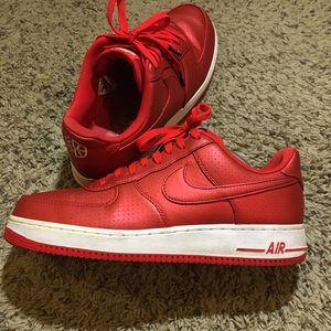 Air Force 1 LV07 Red